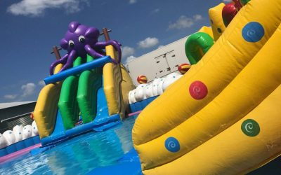 Splash Lagoons Fun & Water Park Set-up 3